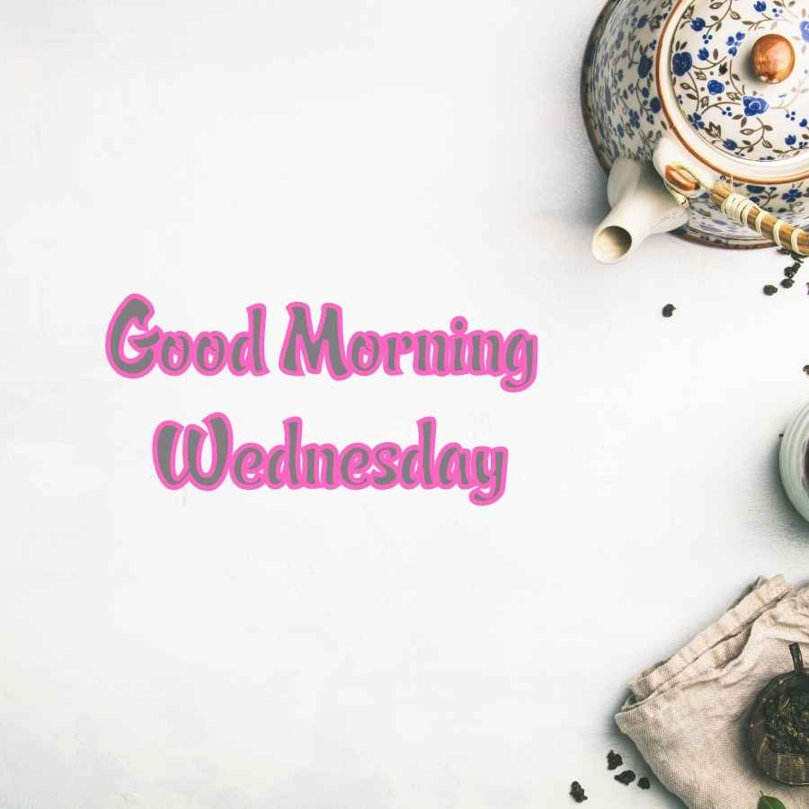 good morning happy wednesday cute images