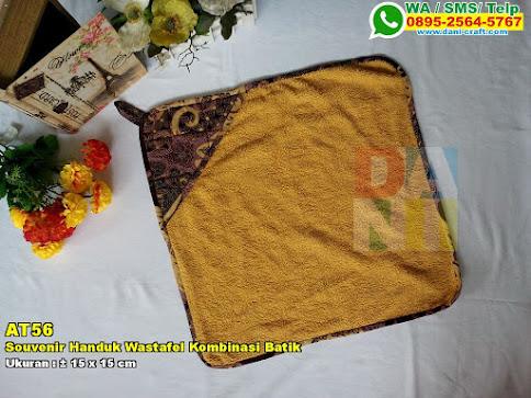 Souvenir Handuk Wastafel Kombinasi Batik