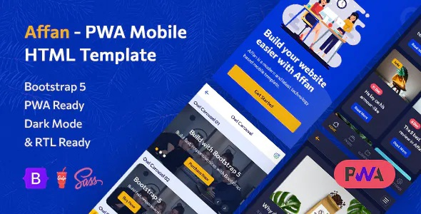 Best Mobile HTML Template