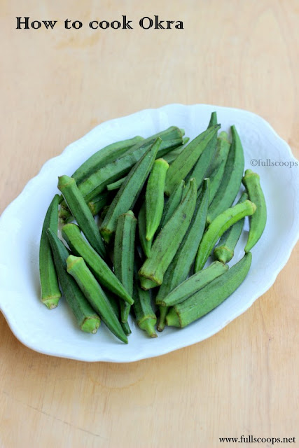 How to cook okra without sticking