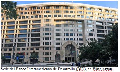 EE.UU. y Argentina se disputan la presidencia del BID en un mano a mano desigual