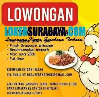 Bursa Kerja Surabaya di Restoran Bebek Remuk Agustus 2020