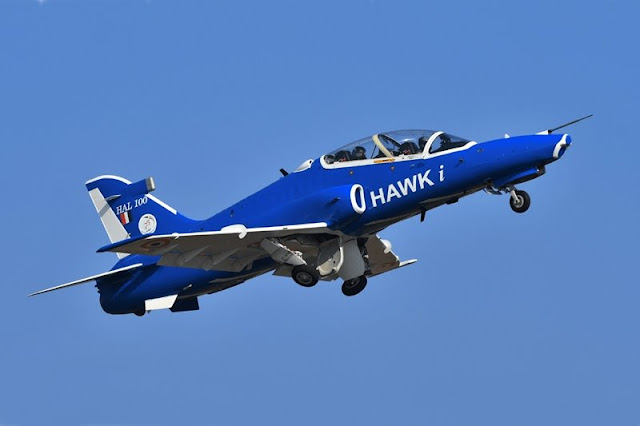 India Hawk fires anti airfield weapon