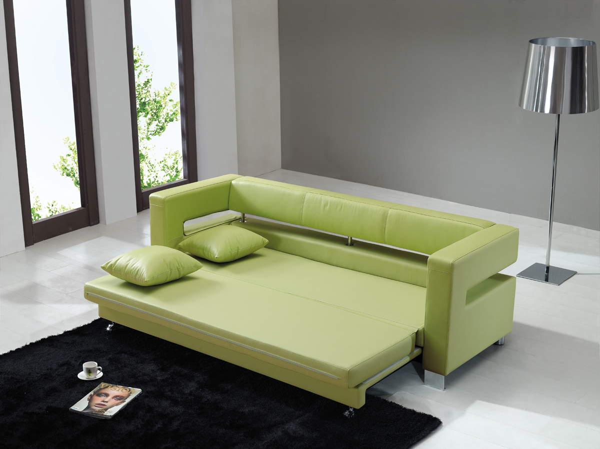leather sofa bed pull out luxury classic click clack chair modern