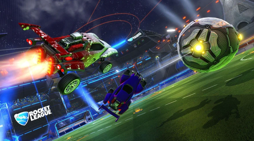 Rocket League update will focus on NASCAR and Formula 1 races
