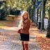 Wie trage ich einen Cordrock - Rock mit Knöpfen - im Herbst oder Winter