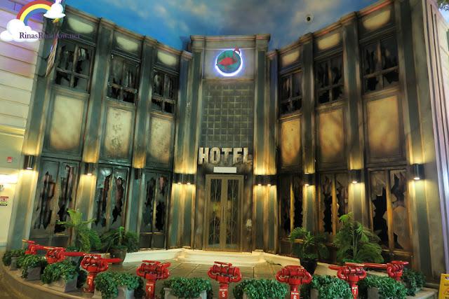 Kidzania Manila abandoned hotel