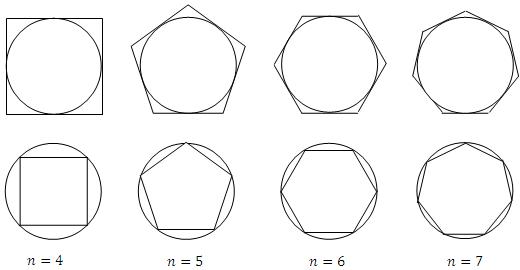 Polígono-inscrito-y-circunscrito-a-una-circunferencia