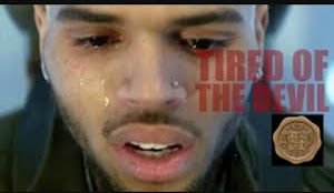 I had a meeting with the devil last week, Couldn't believe what he said to me - Chris Brown Cries Out (Screenshots)