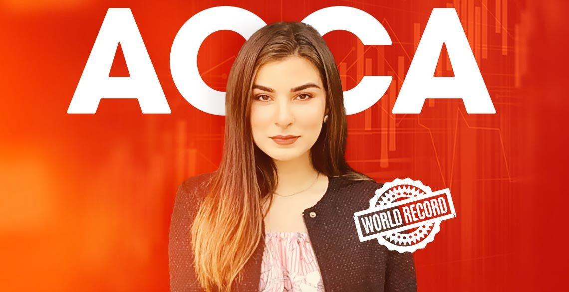 Zara Naeem Tops ACCA Exams & Breaks World Record with Highest Marks