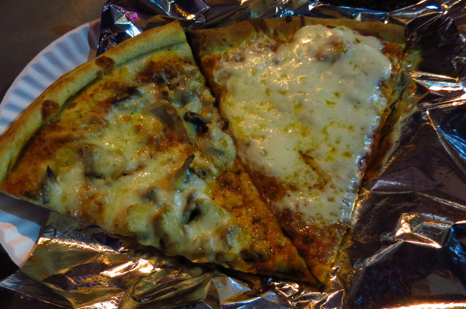 99 Cent Express Pizza Midtown Manhattan NYC So This Was Supper