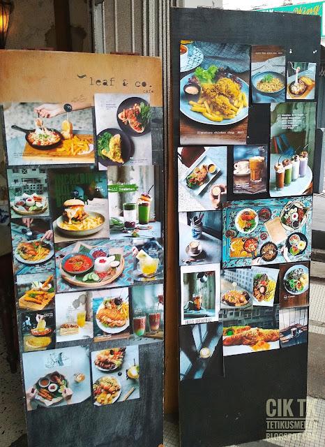gambar menu yang ada di Leaf & Co.