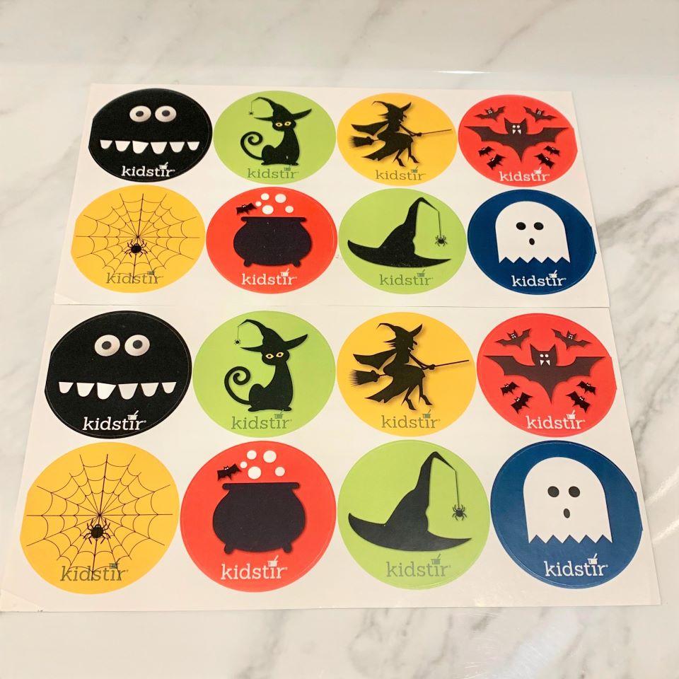 Spooky Stickers Kidstir #ad