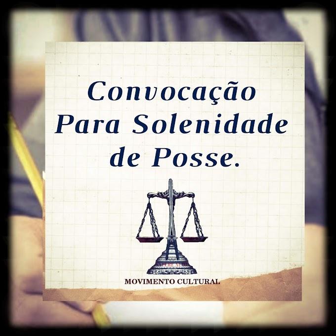 SOLENIDADE DE POSSE - APROVADOS DO CONCURSO PÚBLICO DE PANELAS