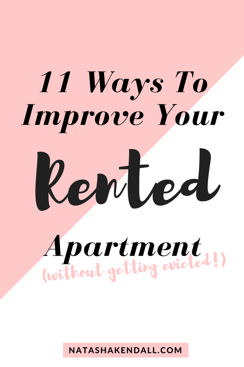 how to improve rented flat/apartment/house, how to improve rented house, how to improve rented apartment and flat. Landlord won't let me re-decorate