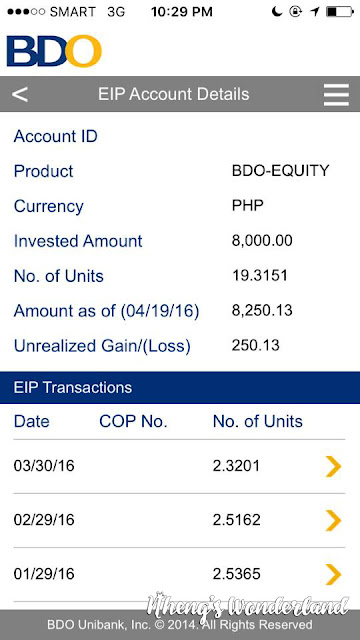 How To View Your BDO EIP Account Online