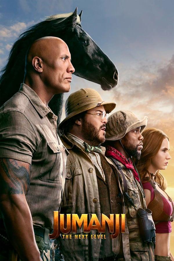 Jumanji: The Next Level [2019] [DVD9] [NTSC] [Latino]