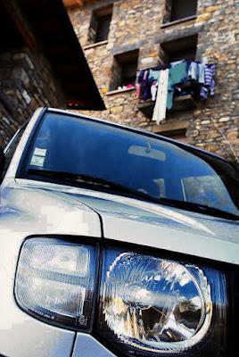 El coche del francés