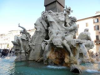 Bernini's Fontana dei Quattro Fiumi