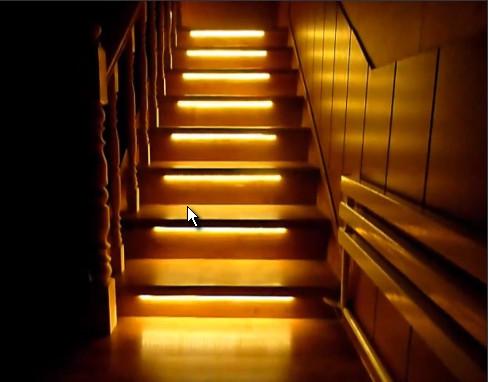 Подсветка лестницы Севастополь, Крым