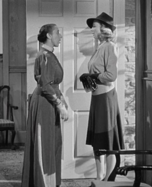 1940. Margaret Hamilton, Virginia Bruce - The invisible woman