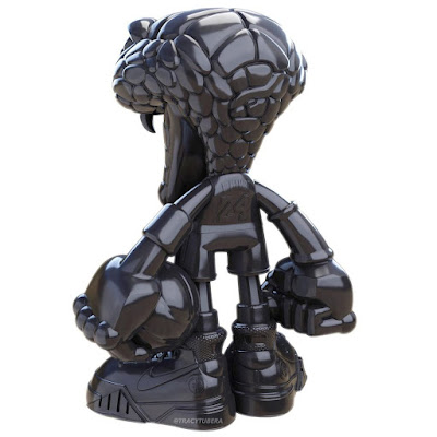 The Black Mamba Snake Resin Figure by Tracy Tubera