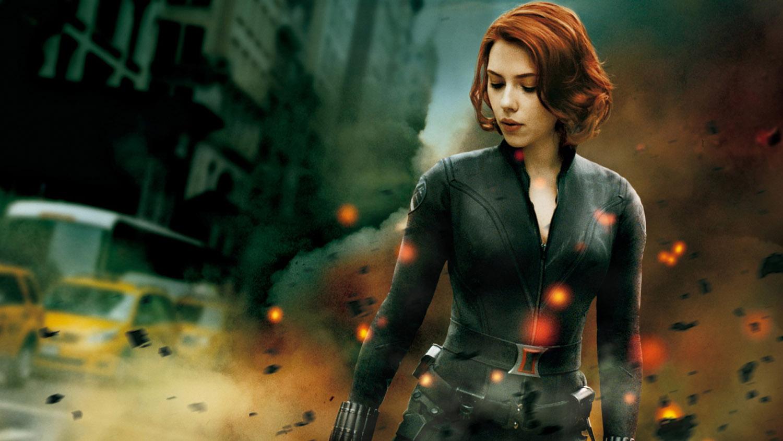 Black avengers scarlett widow johansson