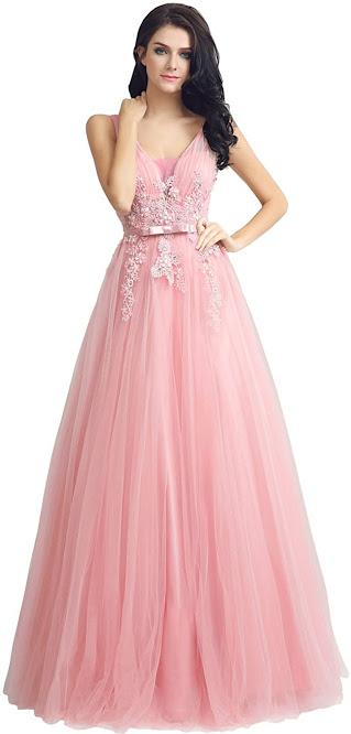 Best Pink Chiffon Bridesmaid Dresses