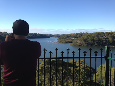 Walking in Oatley Park - Webster's Lookout