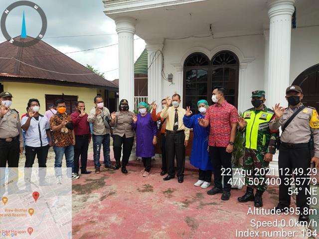 Ops Penyekatan PPKM Level lV Dilaksanakan Personel Jajaran Kodim 0207/Simalungun