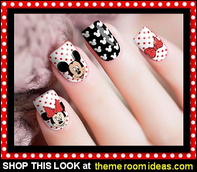 Mickey & Minnie Birthday Nail Wraps