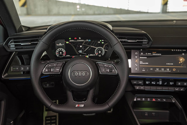 Audi A3 Sportback S-Line 2021 - painel