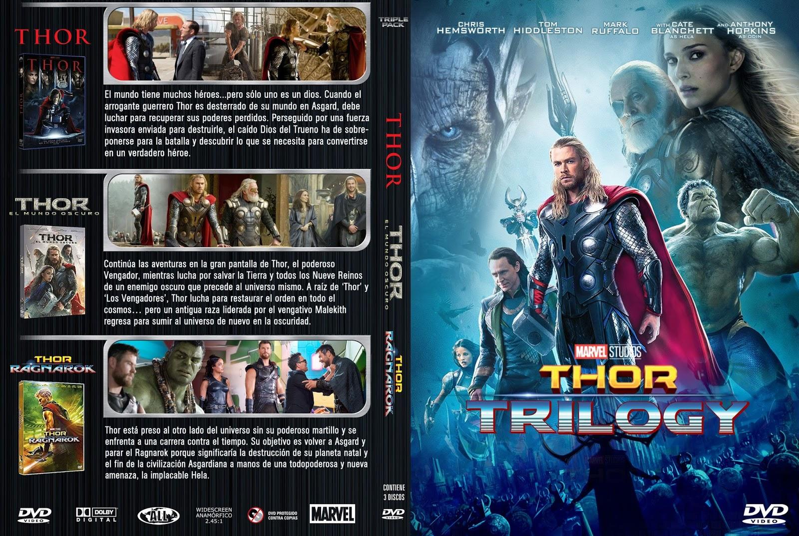 Thor Trilogy Ragnarok