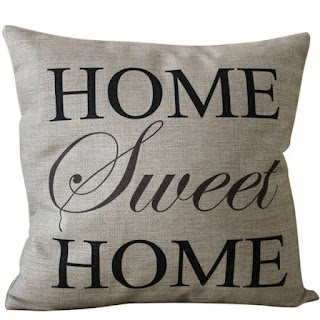 Home Sweet Home Pillow Cover featured on Walking on Sunshine.