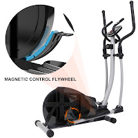 SNODE E20 Elliptical Trainer Machine, features reviewed and compared with E20i, compact home elliptical