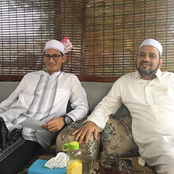 Bertemu Habib Taufiq Assegaf, Komitmen Sandi Ini Bikin Bandar Narkoba Meradang