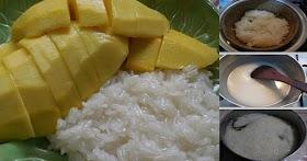 แจกสูตรข้าวเหนียวมะม่วง ทำทานเองก็อร่อย ทำขายสร้างอาชีพยิ่งขายดี