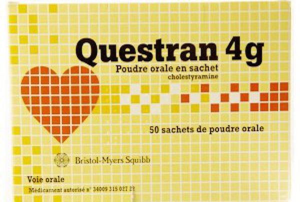 سعر ودواعى إستعمال دواء كويستران Questran للكوليسترول