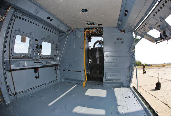Mil Mi-35M interior