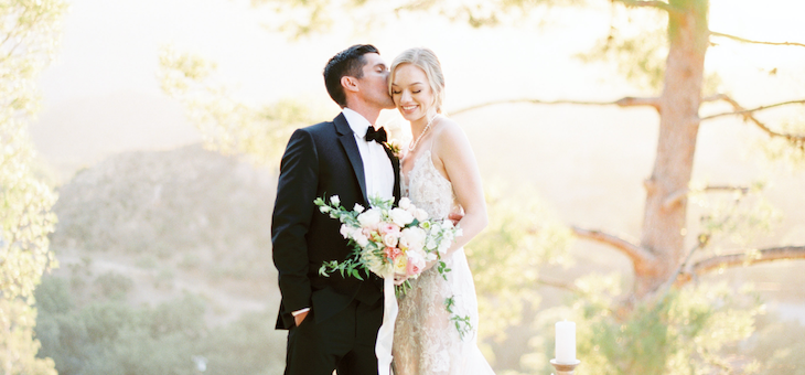 Intimate Wedding Elopement at Le Sangreal Malibu