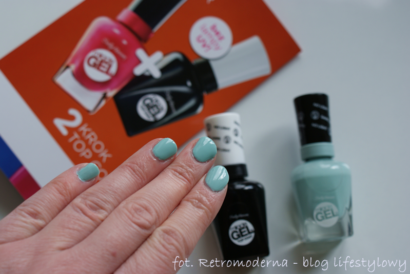 Sally Hansen lakier żelowy Miracle Gel 240 B Girl