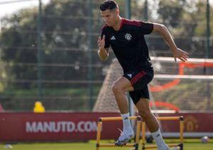 رونالدو يبدأ أساسياً في تشكيلة مانشستر يونايتد أمام نيوكاسل