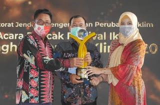 Desa Pelakat Muara Enim raih penghargaan Proklim Lestari tingkat nasional