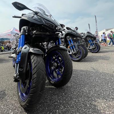 Motor Bike Expo 2021 Yamaha Niken