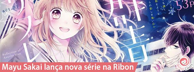 Mayu Sakai lança nova série na Ribon