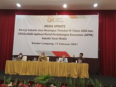 OJK Lampung Optimis Pemulihan Ekonomi Berada pada Jalur yang Tepat