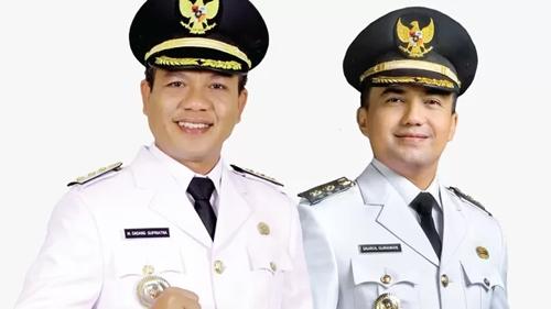 Tersebar Isu Dugaan Keretakan Dadang Supriatna-Sahrul Gunawan, Bupati dan Wakil Bupati Bandung