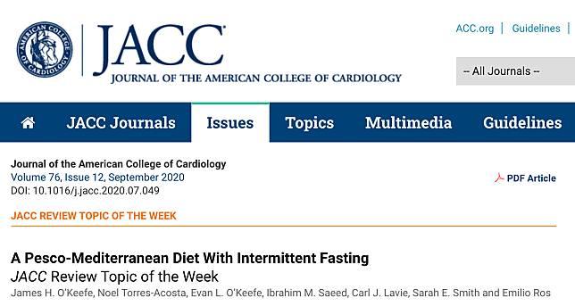 美國心臟病學會「最佳護心飲食」出爐!地中海+間歇斷食效果最好