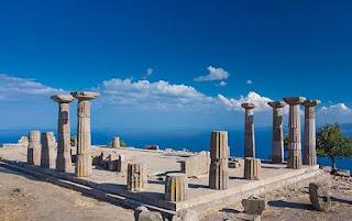 egede gezilecek yerler assos antik kenti