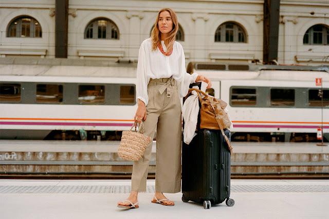 come vestirsi per viaggiare in treno